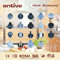 metal control stove knobs