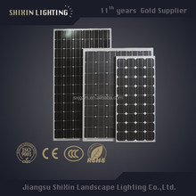 hot sell 12v 10w 65w 110w 150w 250w250w mono solar panel
