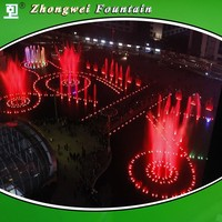 170x68m 3D Musical Fountain Project Largest Fountain in Vietnam