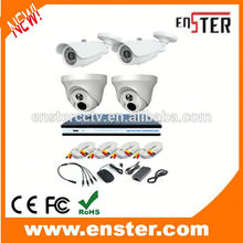 Hot Selling factory 700TVL 4CH Analog DVR kit security camera system 16 channel cctv dvr kits