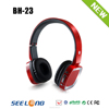 2015 hot selling wireless headphone with memory card reader and FM radio