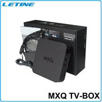 new products for 2015 mxq 2gb amlogic s805 mxq quad core 4k android tv box Quad-Core android tv box MXq TV Box