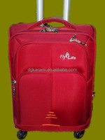 hot sell good quality nylon universal wheels trolly suitcase, travel case