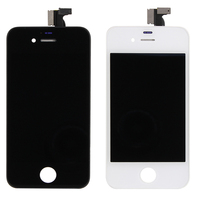 Replacement black screen glass digitizer assembly lcd for iphone 4s,Full LCD display for iphone 4 4s