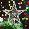 Cheap pretty christmas star tree topper