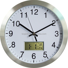 Electric digital wall clock