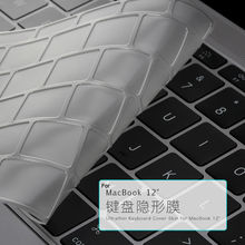 Original Rock Ultra Thin Clear Keyboard Protector Protective Film For Macbook Air 12 Inch MT-3985