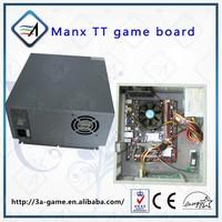 Video Mother Game Board For MANX Super Bike TT Motor Simulator Racing Machine