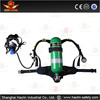 mining self contained air breathing apparatus SCBA personal protective equipment with one cylinder