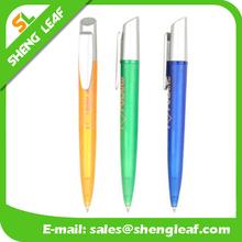 Ballpoint pen with clock of making machine
