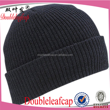 2015 Original Solid Fashion blank mens beanie knitted cheap custom skull cap and hat