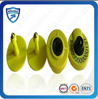 134.2khz rfid animal ear tag farming equipment LF passive plastic rfid animal ear tag