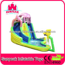 Hot for Summer! Cheap Spongebob Inflatable Water Slide for