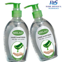 MSDS Personal Care water free silicone hand sanitizer gel with 70% alcohol