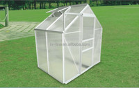 2015 special design thick vacuum formed Clear mini 2-room flower house
