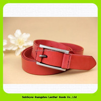 15190 Personalized fashion pin buckle leather belt