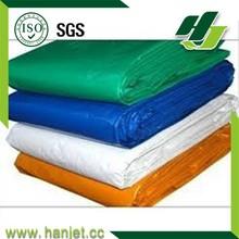 All color PE tarpaulin for chair cover,waterproof and fire retardant pe tarpaulin in high strength