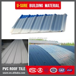 Flexible waterproof warehouse transparent lightweight roofing materials