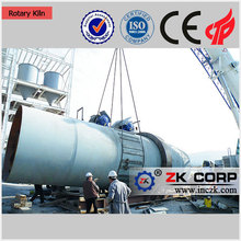 Save Consumables Active Quick lime rotary kiln Production