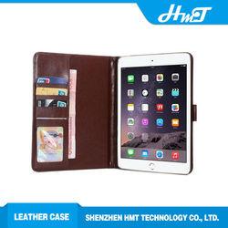 for iPad mini wallet leather flip case retro leather flip case for iPad