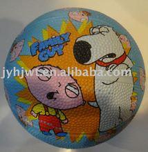 size 1 MINI rubber basketball