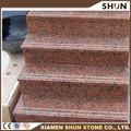granito vermelho interior telhas de pedra para escadas