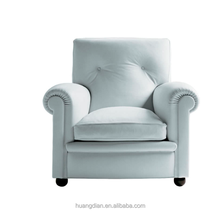 chesterfield shell white color pu or leather cover sofa armchair furniture AO6037