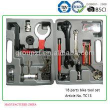 18 parts in one bike tool case bicycle repair tool kits TC13