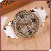 Hotselling Watch Clock distributor, stainless steel chain black color wrist watch