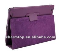 High Quality PU Leather Stand Case For iPad 3 4