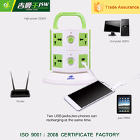 AC Power 2500W Universal Outlet Desk Multifunctional Socket With Usb