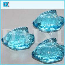 Decorative fish shaped artistic glass