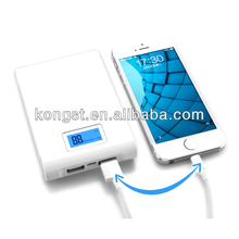 high quality mobile charger power with full color logo printing emergency mobile power bank