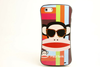 Slim Shape TPU Print Phone Back Case Cover For iPhone 4/4S/5/5S