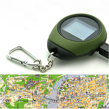 Custom keychain gps locator tracker