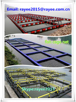 Fish Farming Cage Net for Fish Breeding , hdpe aquaculture fish cage floating, peces neto jaula