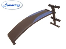 sport goods AMA-570A indoor sport products arc-shaped sit up bench Guangzhou Yijin fitness factory