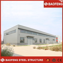 easy loading steel roof frame plant shed warehouse construction