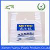 HDPE/ LDPE poly t shirt resealable shopping bag
