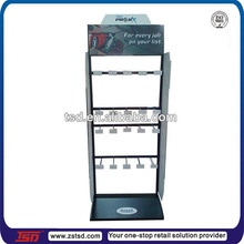 TSD-M041 Custom hot sale gloves floor standing display units,metal shop display stand,retail store furniture