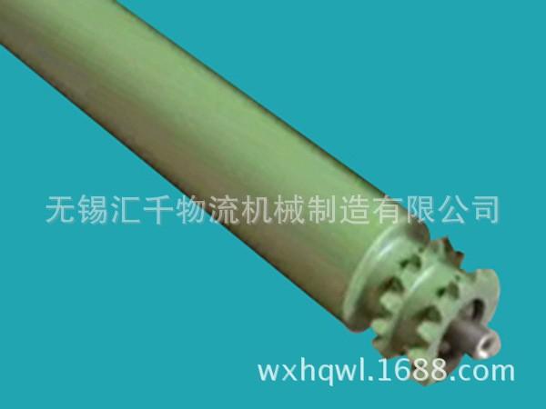 Teflon revestido de aço do rolo de transporte, teflon rolo, cadeia tipo de unidade de transporte de rolo