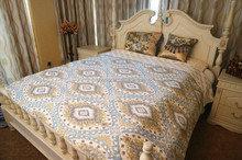 hot sale home 100% cotton printed quilt