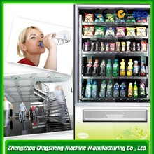 High efficient automatic beverage vending machine coin operated machine