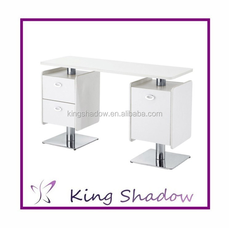 2015 antique nail table used nail salon tables nail for Used salon stations for sale