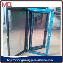 ISO approved plastic glass casement windows for sale