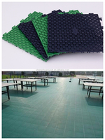 Athletic Flooring Long-Lasting Tiles For Table tennis court