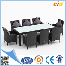 Quickest Delivery Time 9pcs Noble House Furniture Dining Table Set, Modern Dining Set