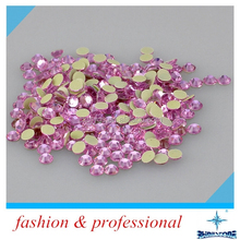 Crystal Crafts Hot Fix Rhinestones Flatback Round Glitter Color Crystal Picture Frames With Rhinestones