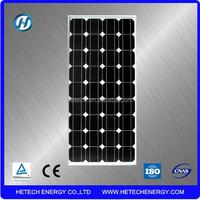 Solar 2015 single crystal 100 watt solar panel for sale