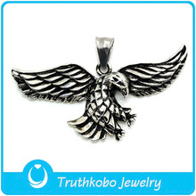 TKB-P0025 Casting Jewelry Designs Animal Eagle Statues Pendants Satinless Steel